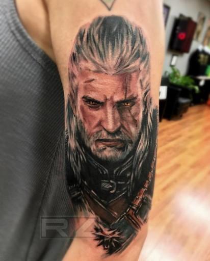 Uwielbiasz Wiedźmina To Zrób Sobie Z Nim Tatuaż Zobaczcie Dziary