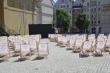 Duża strefa kibica na rynku w Głogowie już stoi. Mniejsze powstały w lokalach