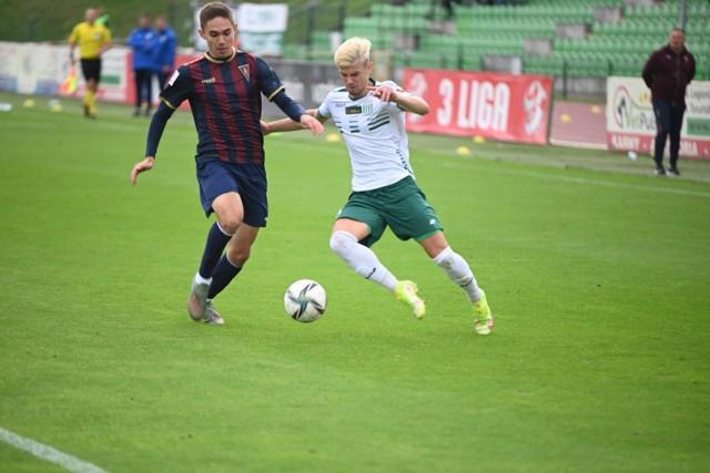 Olimpia Grudziądz przegrała na własnym boisku z rezerwami Pogoni Szczecin