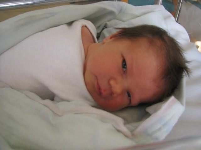 Syn Moniki i Pawła Kuleszka, urodzony 10 września 2021