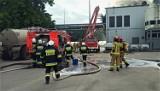 Pożar biogazowni w Piaszczynie. Zapaliła się stacja transformatorowa