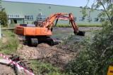 Kolejne prace przy zbiorniku wodnym w Zalesiu Małym [ZDJĘCIA]