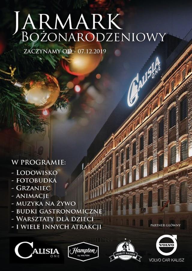 Jarmark bożonarodzeniowy w Kaliszu zagości w Calisia One