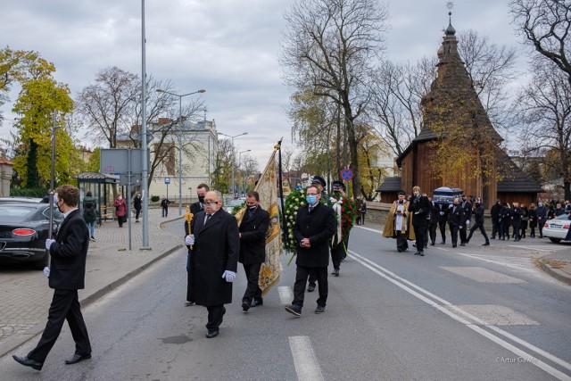 Uroczystości pogrzebowe Jana Kudelskiego w Tarnowie