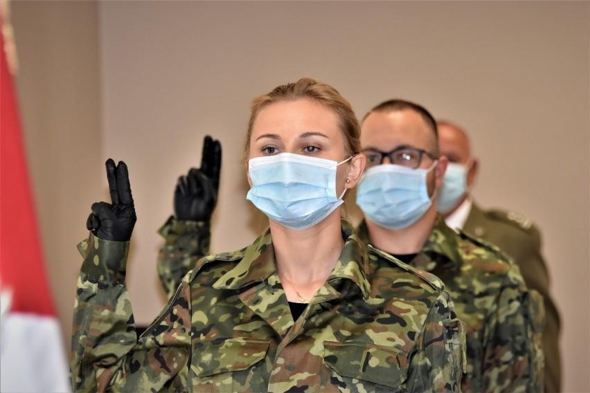 Ślubowanie nowo przyjętych funkcjonariuszy Straży Granicznej