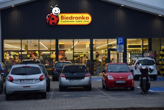 Nowy sklep sieci Biedronka otwarto w Skokach