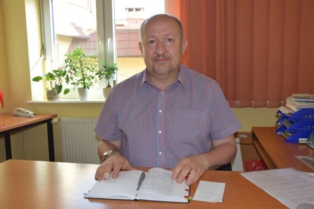 Wiesław Kulik, szef sanepidu w Szczecinku