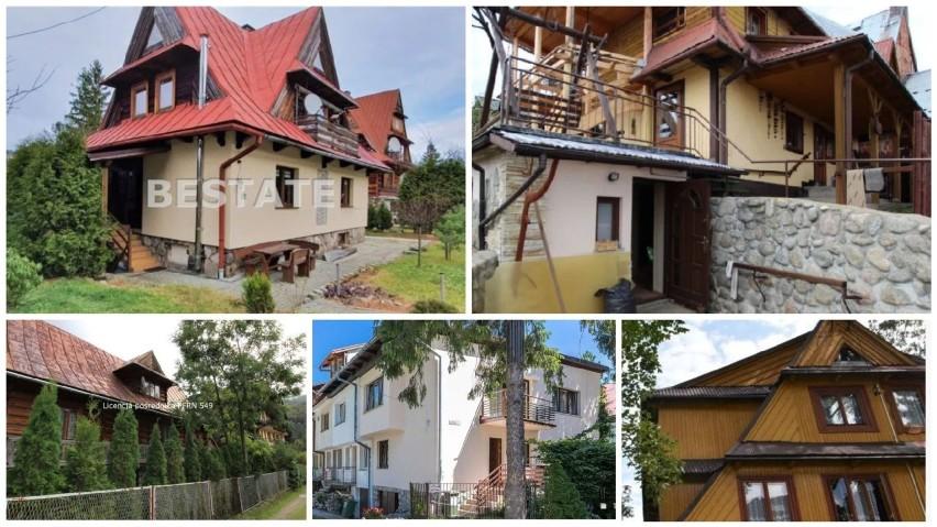 10 NAJTAŃSZYCH domów na sprzedaż w Zakopanem. Wszystkie kosztują mniej niż milion. To prawdziwa... okazja. Zobacz ZDJĘCIA [11.10]