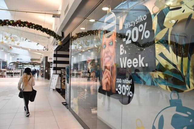 28 listopada - ponowne otwarcie sklepów w galeriach handlowych w Opolu.