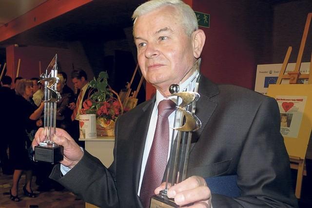 """Jan Skubisz, szef firmy """"Inkomet"""" , która zwyciężyła w kategorii """"Firma Roku"""" i """"Innowacyjna Firma Roku"""""""