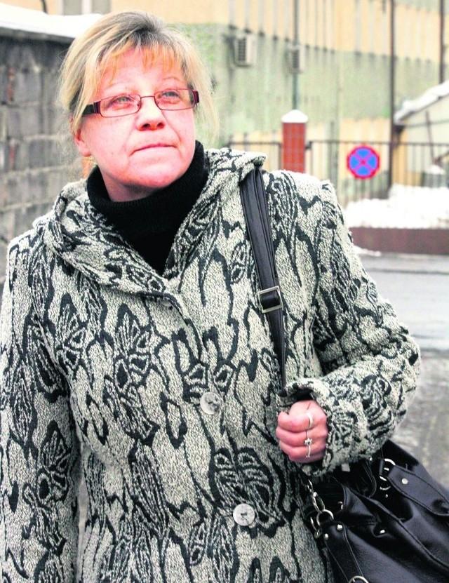 - Po 30 latach pracy w Fabryce Porcelany Krzysztof zostałam bez pensji - mówi Danuta Olszańska