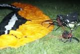Tragiczny wypadek motolotni w Mikołowie. Pilot nie żyje. Miał 54 lata
