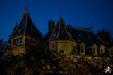 Gołuchów nocą na magicznych zdjęciach Jacka Piotrowskiego