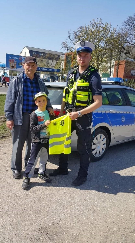"""Policyjna akcja """"Pieszy"""" na drogach powiatu aleksandrowskiego [zdjęcia]"""