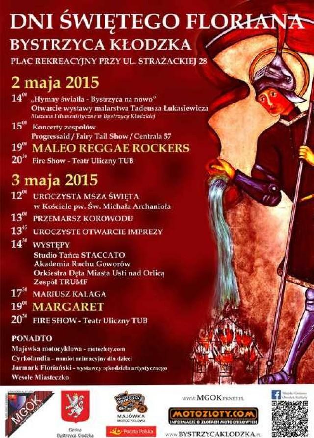 Program obchodów Dni Świętego Floriana