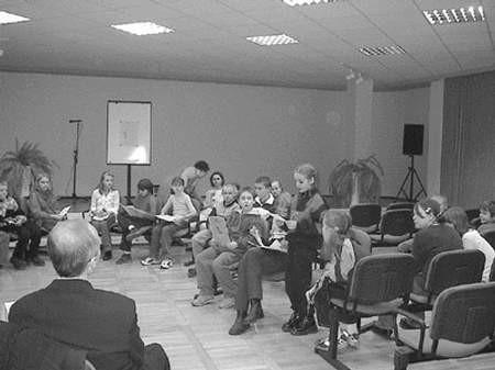 Od kilku już lat będzińska książnica organizuje zajęcia dla dzieci.