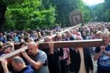 """Pielgrzymi dotarli do Kalwarii Zebrzydowskiej. Abp Jędraszewski: """"Otwórzcie się na rzeczywistość Bożą"""" [ZDJĘCIA]"""