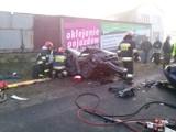 Wypadek w Stobnie pod Kaliszem. Cztery osoby ranne