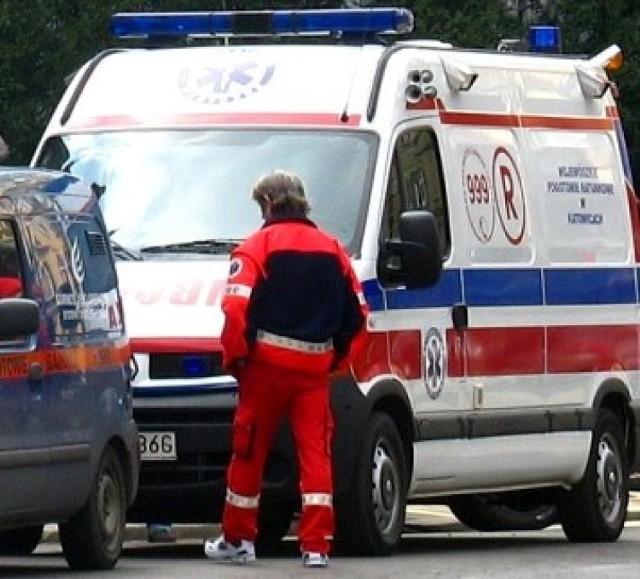 Wypadek na drodze nr 62 w Serocku. Zginęły dwie osoby