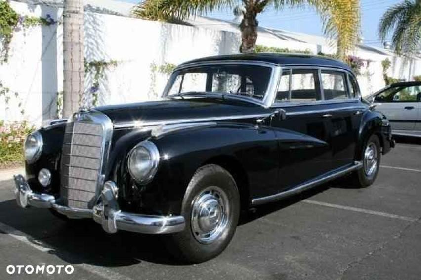 Mercedes-Benz 1956 57 956 km Benzyna Sedan 89 000...
