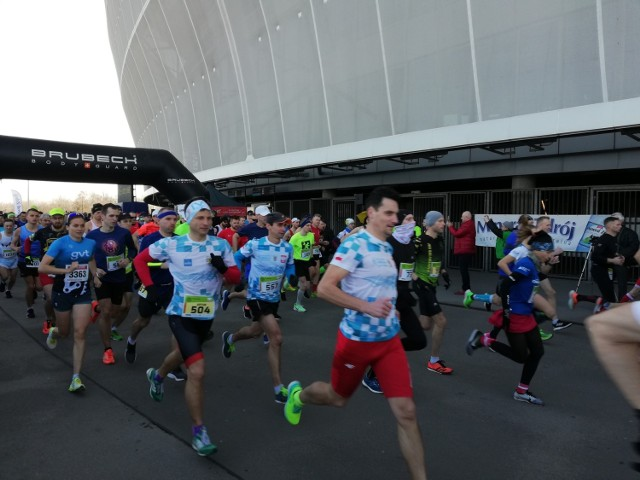 Ponad 1000 zawodników stanęło na starcie wrocławskiego biegu Dziesiątka Wroactiv