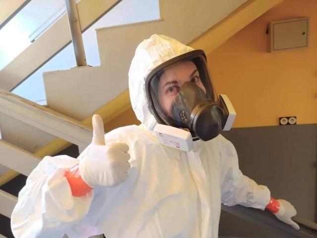 Natalia Malinowska z Kęt na pierwszej linii frontu w walce z pandemią