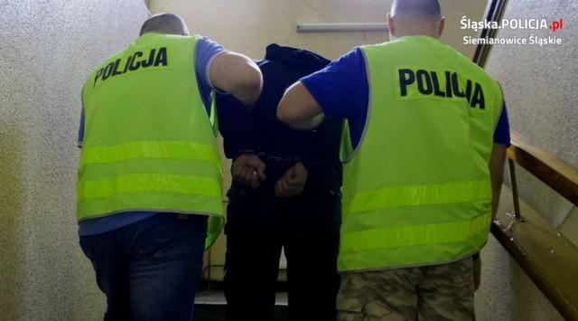 Policjanci zatrzymali domniemanego sprawcę zabójstwa w Siemianowicach