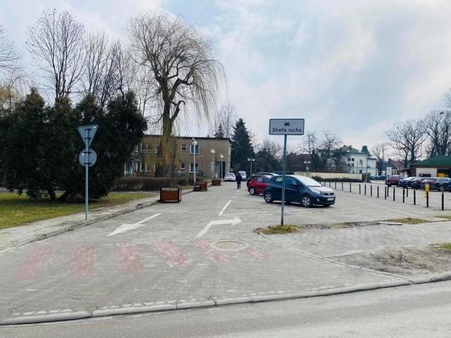 Parking przy ulicy Wojtyłów w Wadowicach