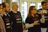 Protest głodowy medyków w Łodzi. Dzień 3 [ZDJĘCIA]