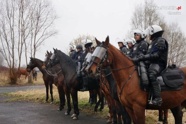 Zespół policji konnej w Chorzowie
