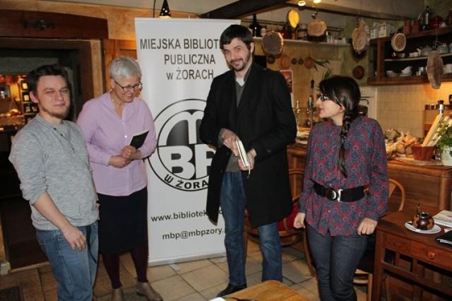 Spotkania MBP Żory: Spotkanie z Piotrem Tenczkiem