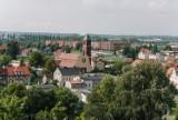 Piękne widoki z wieży ciśnień przy ul. Witosa w Żarach. To była niezwykle rzadka okazja, by obejrzeć panoramę miasta z tego miejsca