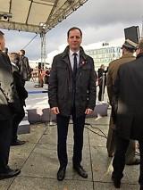 Sławno: Burmistrz na Święcie Niepodległości w Warszawie [ZDJĘCIA]