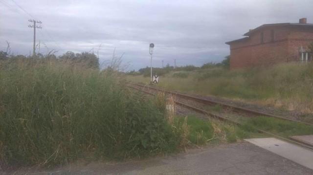 ak wyglądał przejazd w Raciniewie w sobotę. Czytelnik musiał wyjść z auta, by zobaczyć czy nie jedzie pociąg. Zrobił dla nas zdjęcie