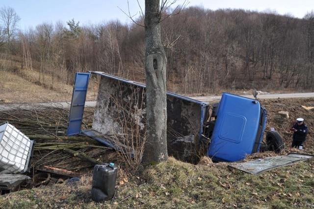 Wypadki w powiecie biłgorajskim: trzy osoby trafiły do szpitala