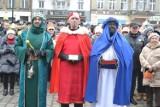 Orszak Trzech Króli w Mysłowicach. Przepiękne orszaki spotkały się na rynku [ZDJĘCIA, WIDEO]