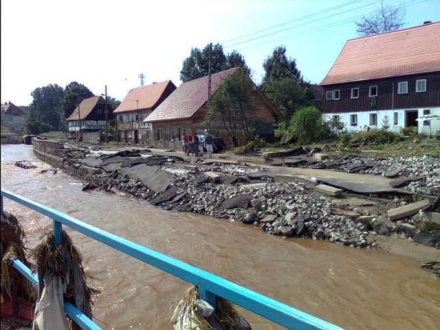 Bogatynia po powodzi