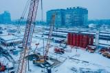 Modernizacja dworca Warszawa Zachodnia. Pomino zimy prace budowlane nie zwalniają