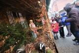 Piekarskie Betlejem znów zachwyca. Niezwykła żywa szopka obok bazyliki w Piekarach Śląskich ZDJĘCIA