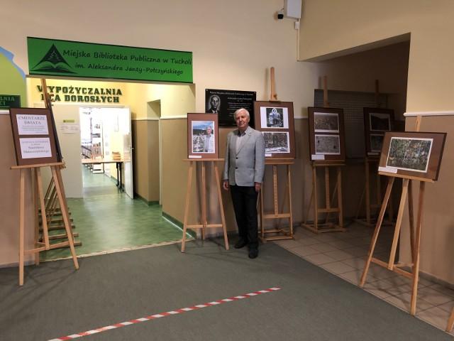 Stanisław Muszelański podczas licznych podróży po świecie uwiecznia na zdjęciach różne ciekawe miejsca, w tym - cmentarze