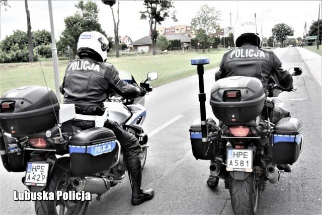 """Policyjna akcja """"Motocykl"""" w Żaganiu"""