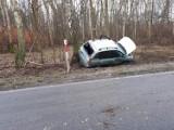 Wypadek w Smolnicy. Rannego zabrał helikopter