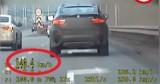 Warszawa. Szokujące nagranie z kamer drogówki. Pędził 140 km/h w terenie zabudowanym
