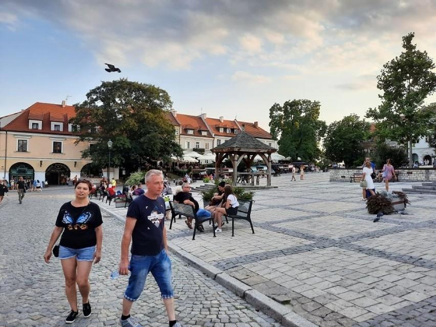 W sobotę, 24 lipca Sandomierz przeżywał prawdziwe oblężenie....