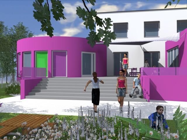"""Tak będzie wyglądało hospicjum dla dzieci """"Świetlikowo"""" w Tychach-Urbanowicach. Pomóżmy w jego powstawaniu"""