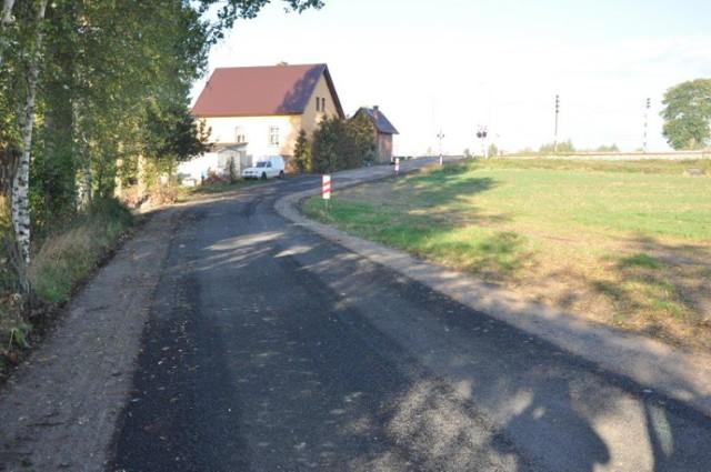 Zakończyła się przebudowa drogi gminnej Malankowo - Pniewite w gminie Lisewo