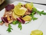 Zajęcia kulinarne z kuchni śródziemnomorskiej w Zespole Szkół w Kościelcu. Tym razem uczniowie pichcili dania bałkańskie [zdjęcia]