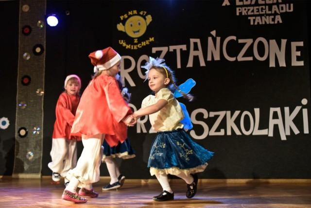 Przegląd małych tancerzy organizuje Przedszkole Samorządowe nr 47.
