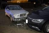 Kolizja trzech aut w Słupsku przy ul. Gdyńskiej [ZDJĘCIA]