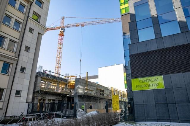 Powstaje nowy budynek AGH